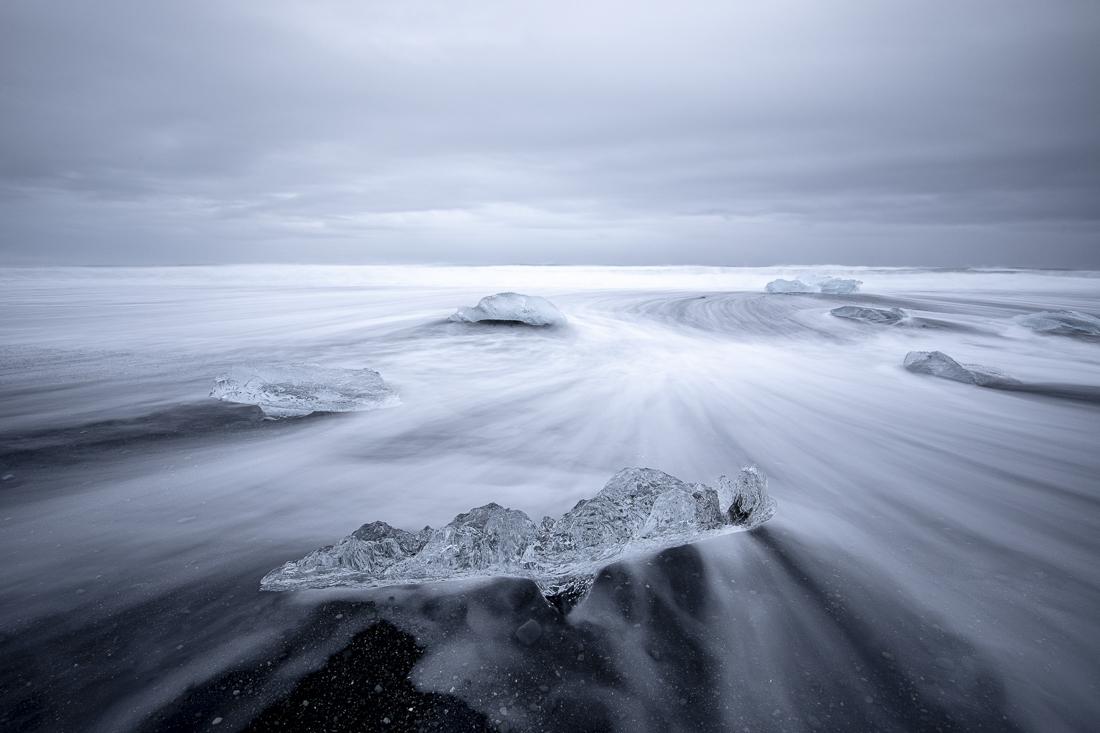 Eis am Meer - Island - Fine Art Fotografie - Stefan Mayr